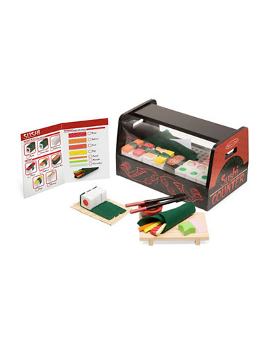 Melissa & Doug Roll Wrap and Slice Sushi Counter-MULTI-One Size