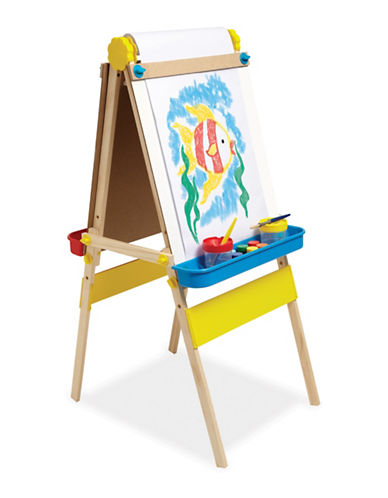 Melissa & Doug Double-Sided Art Easel-MULTI-One Size