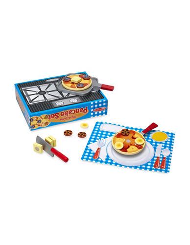 Melissa & Doug Wooden Flip and Serve Pancake Set-MULTI-One Size