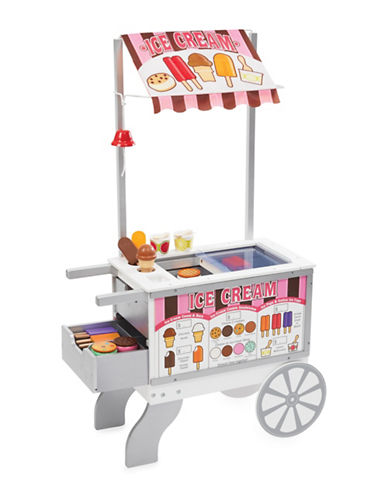 Melissa & Doug Snacks and Sweets Food Cart-MULTI-One Size
