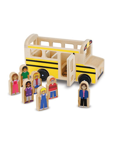 Melissa & Doug School Bus-MULTI-One Size