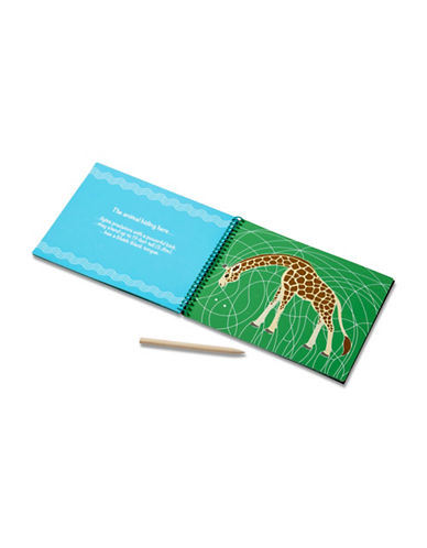 Melissa & Doug Safari Animals Hidden-Picture Pad-MULTI-One Size