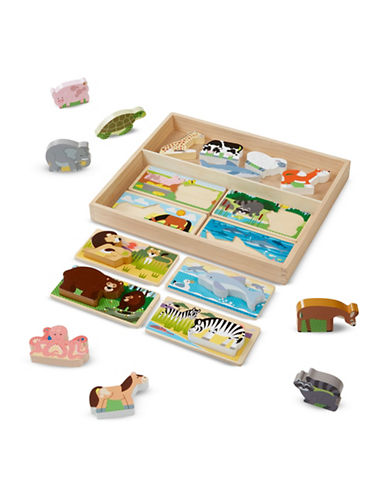 Melissa & Doug Animal Picture Boards-MULTI-One Size