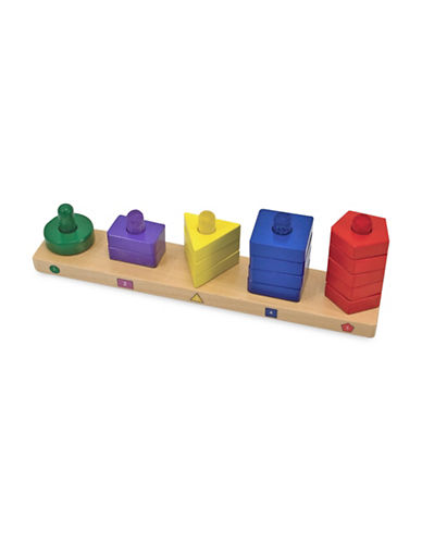 Melissa & Doug Stack & Sort Board-MULTI-One Size