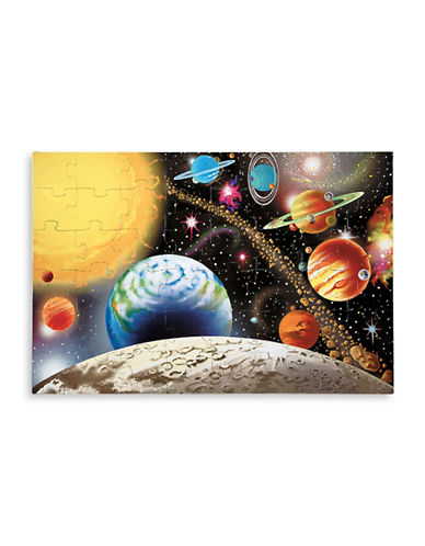Melissa & Doug Solar System Floor Puzzle-MULTI-One Size