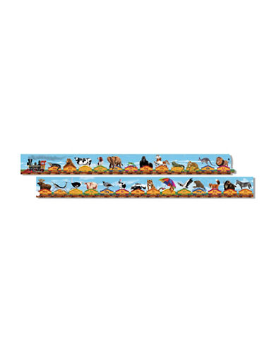 Melissa & Doug Alphabet Train Floor Puzzle-MULTI-One Size