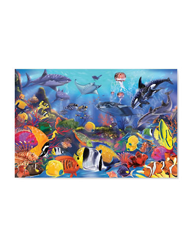 Melissa & Doug Underwater 48-Piece Floor Puzzle-MULTI-One Size