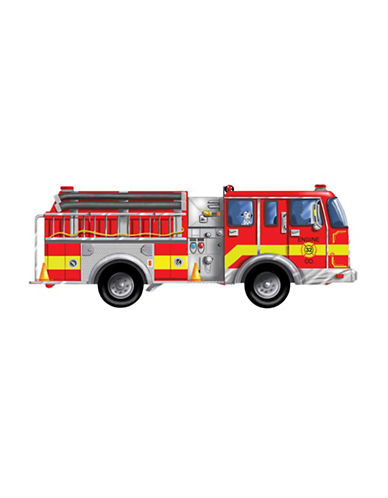 Melissa & Doug Giant Fire Engine 24-Piece Floor Puzzle-MULTI-One Size