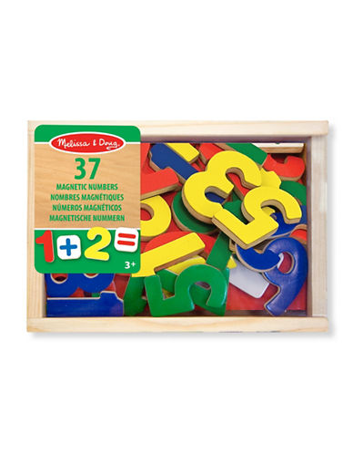 Melissa & Doug Magnetic Wooden Numbers-MULTI-One Size