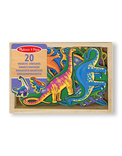Melissa & Doug Wooden Dinosaur Magnets-MULTI-One Size