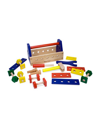Melissa & Doug 24-Piece Take-Along Tool Kit Play Set-MULTI-One Size