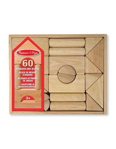 Melissa & Doug 60-Piece Standard Unit Blocks-MULTI-One Size