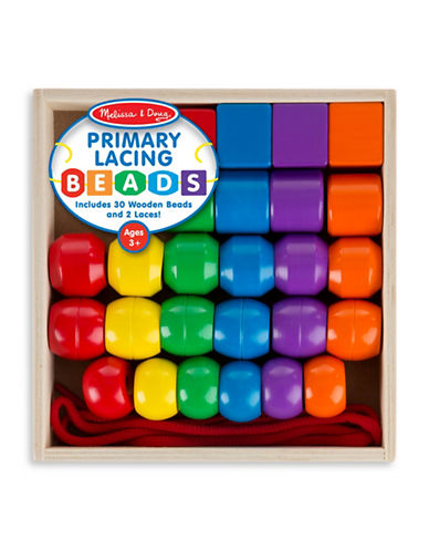 Melissa & Doug Primary Lacing Beads-MULTI-One Size