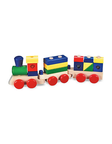 Melissa & Doug Stacking Train-MULTI-One Size