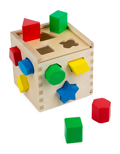 Melissa & Doug Shape Sorting Cube-MULTI-One Size