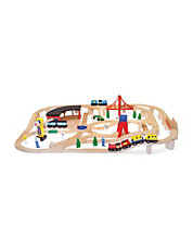 Get The Melissa & Doug Wooden Railway Set For $89.99 Or Less @ The Bay