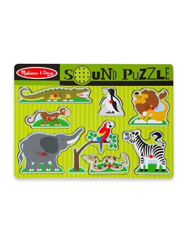 Melissa & Doug Zoo Animals Sound Puzzle-MULTI-One Size