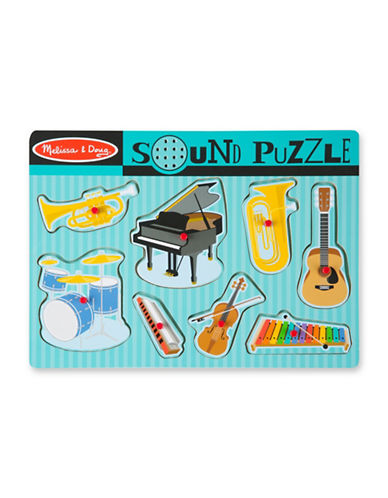 Melissa & Doug Sound Puzzle Musical Instruments-MULTI-One Size