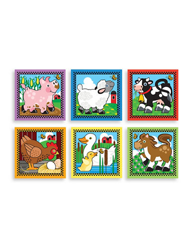 Melissa & Doug Farm Cube Puzzle-MULTI-One Size
