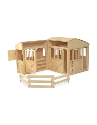 Melissa & Doug Folding Horse Stable-MULTI-One Size