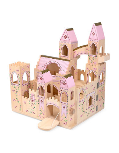 Melissa & Doug Folding Princess Castle-MULTI-One Size
