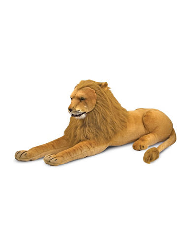 Melissa & Doug King-Size Plush Lion-MULTI-One Size