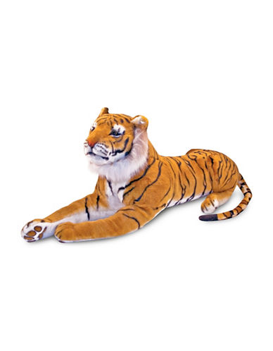 Melissa & Doug King-Size Plush Tiger-MULTI-One Size