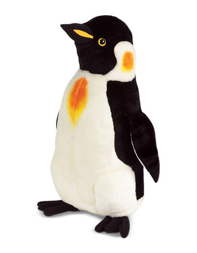 Melissa & Doug King-Size Plush Penguin-MULTI-One Size
