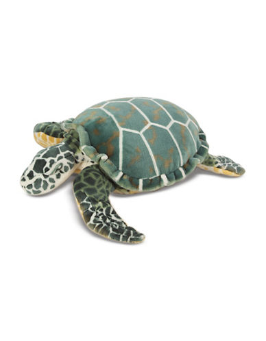Melissa & Doug King-Size Plush Sea Turtle-MULTI-One Size