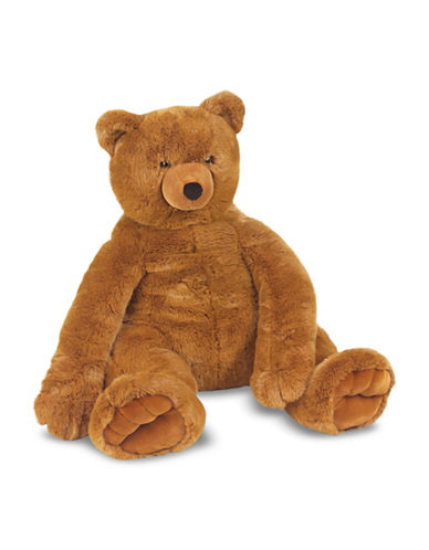 Melissa & Doug Jumbo Plush Brown Teddy Bear-MULTI-One Size