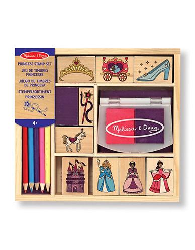 Melissa & Doug Princess Stamp Set-MULTI-One Size