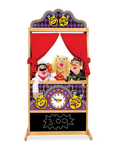 Melissa & Doug Puppet Time Theatre-MULTI-One Size