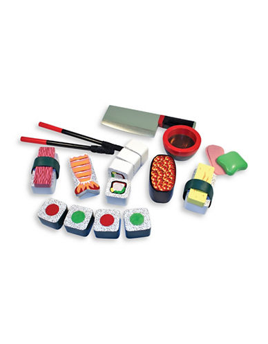 Melissa & Doug Wooden Sushi Slicing Playset-MULTI-One Size