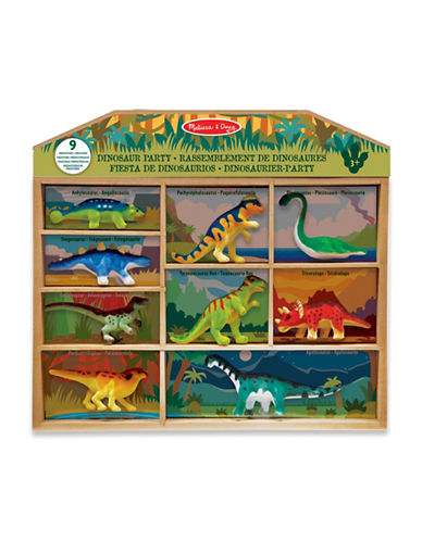 Melissa & Doug Dinosaur Party Play Set-MULTI-One Size