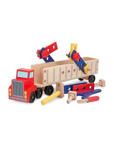 Melissa & Doug Big Truck Building Set-MULTI-One Size