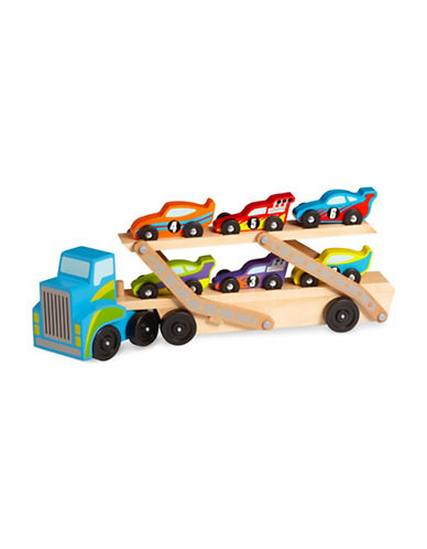 Melissa & Doug Mega Race-Car Carrier-MULTI-One Size
