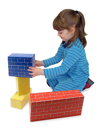 Melissa & Doug Jumbo Cardboard Blocks-MULTI-One Size