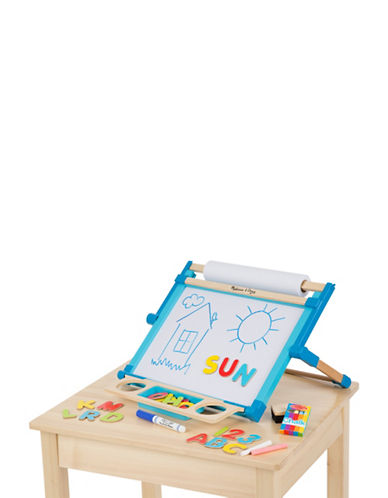 Melissa & Doug Wooden Double-Sided Tabletop Easel-MULTI-One Size
