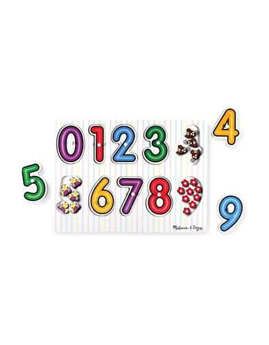 Melissa & Doug See-Inside Numbers Peg-MULTI-One Size