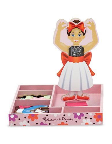 Melissa & Doug Nina Ballerina Magnetic Wooden Dress-Up Doll-MULTI-One Size