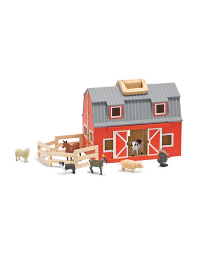 Melissa & Doug Fold and Go Barn-MULTI-One Size