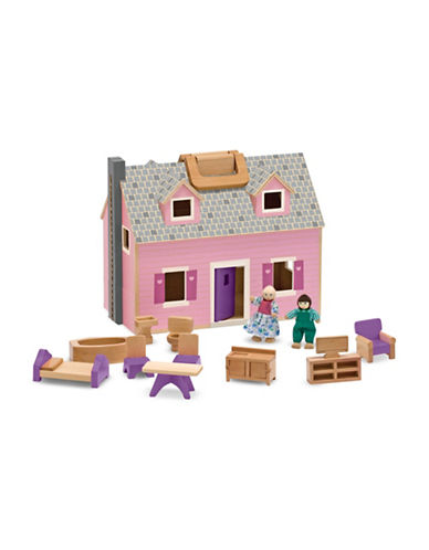 Melissa & Doug Fold and Go Dollhouse-MULTI-One Size