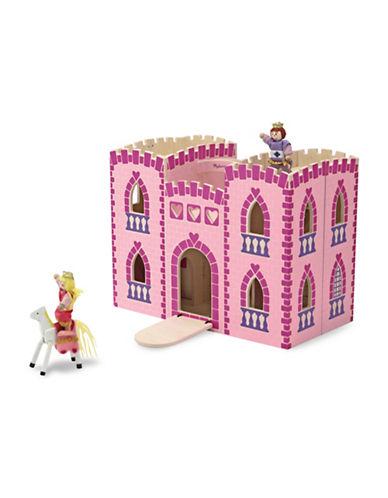 Melissa & Doug Fold & Go Princess Castle-MULTI-One Size