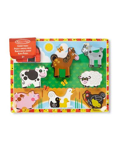 Melissa & Doug Farm Chunky Puzzle-MULTI-One Size