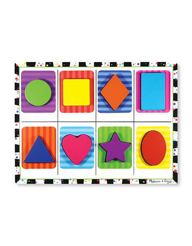 Melissa & Doug Shapes Chunky Puzzle-MULTI-One Size