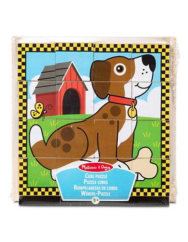 Melissa & Doug Pets Cube Puzzle-MULTI-One Size