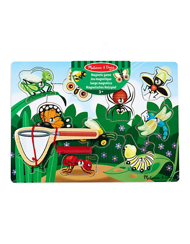 Melissa & Doug Magnetic Wooden Bug-Catching Game-MULTI-One Size
