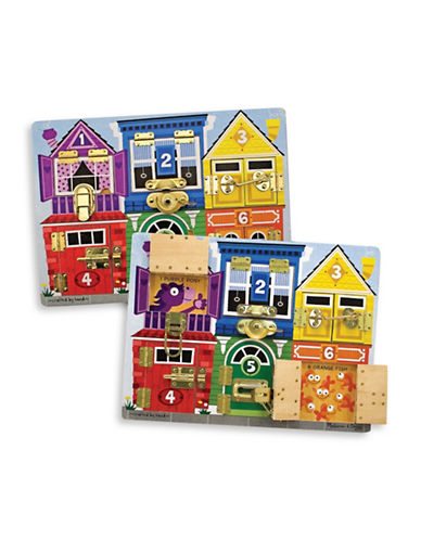Melissa & Doug Latches Board-MULTI-One Size
