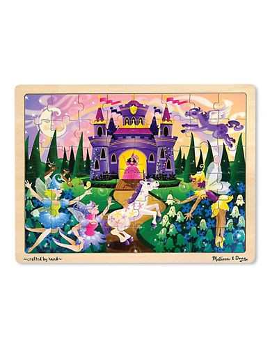 Melissa & Doug Fairy Fantasy Jigsaw Puzzle-MULTI-One Size