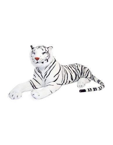 Melissa & Doug White Tiger Plush-MULTI-One Size